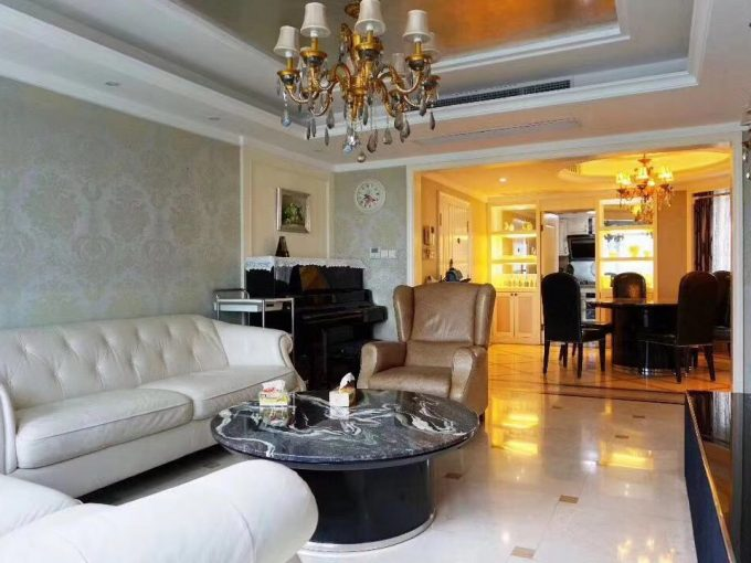 PUDONG:Dongxiu rd lane 99 A decent 3 bedroom apartment+2bth L2 P